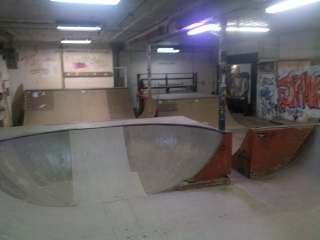 Skank Skats Indoor Mini-Ramp Complex